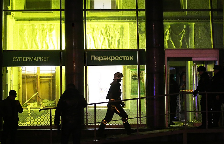 Casualties reported following St Petersburg store explosion; IED Device Detonated