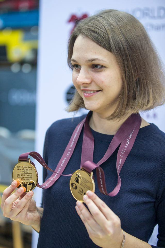 World Chess Grandmaster Anna Muzychuk Forgoes Saudi Tournament in Support of Women