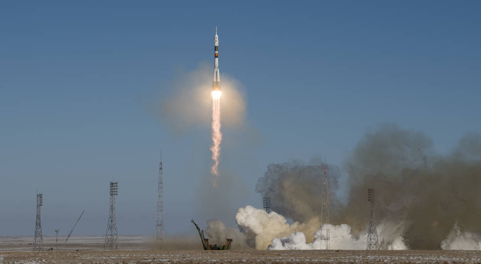 Lift Off! Three New Crew Members on Voyage to International Space Station