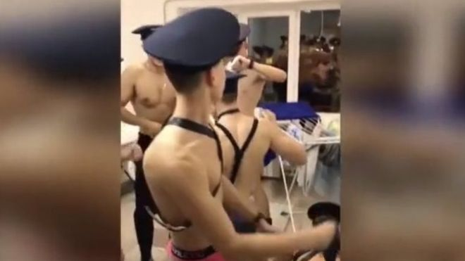 Russian Cadets in Trouble for Dancing in Underwear in This Video