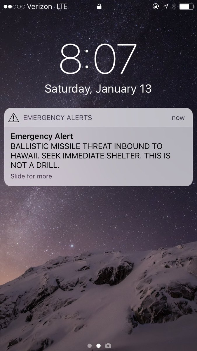 ICBM False Alarm in Hawaii: Wrong Button & Other Issues Addressed by Governor & EMA