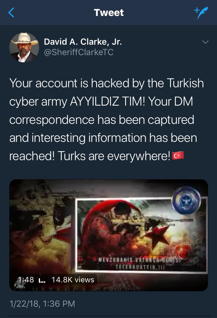 Turkish Hackers Taking Over Twitter Accounts, Posting Propaganda