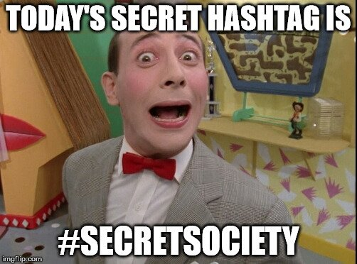 Secret Society Text Sparks Imaginations: Twitter Funnies