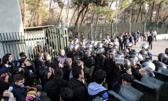 Iran: at least 1,000 detained protesters at risk of torture; Amnesty International