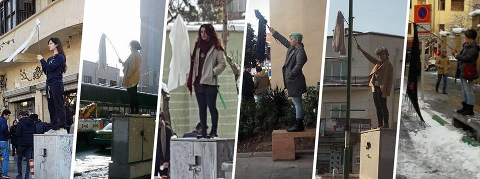 White Wednesdays: A Movement Protesting Compulsory Hijab in Iran is Growing