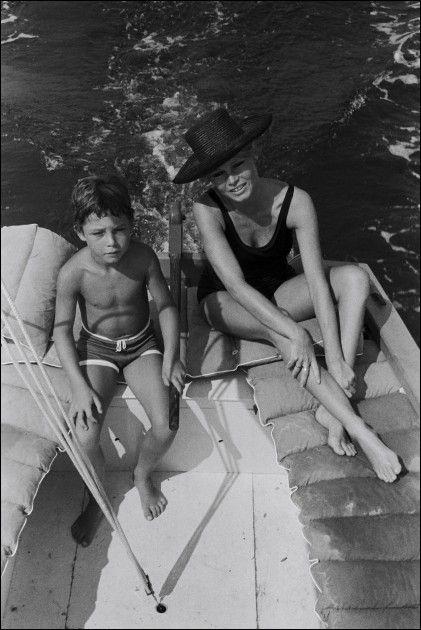 "08/00/1967. Brigitte Bardot at ""the madrague"" Saint Tropez"