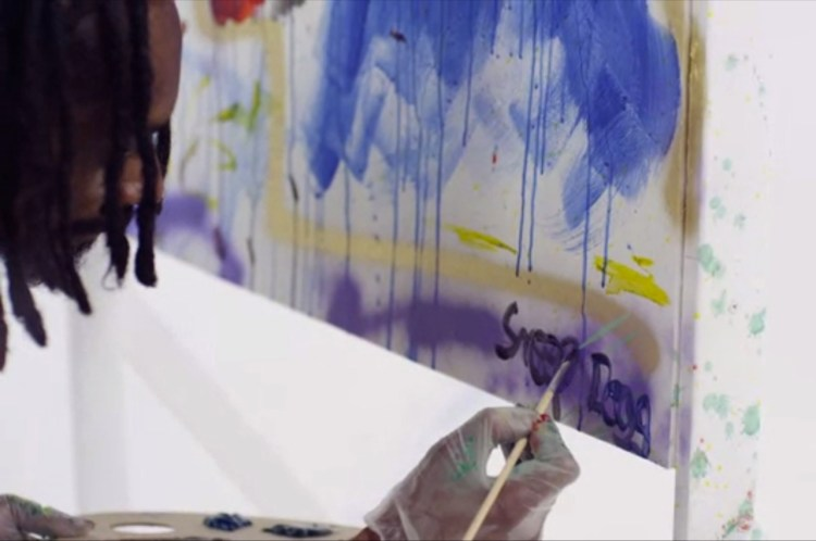 snoop dog painting