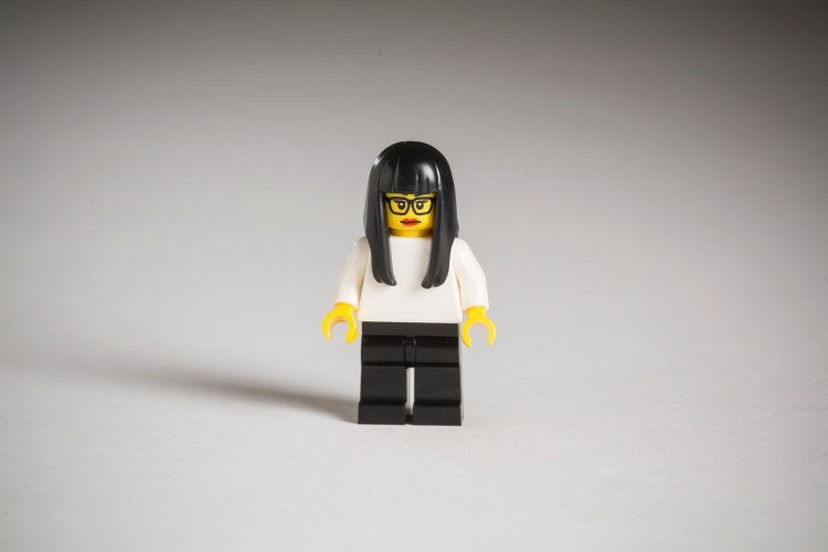 Hipster Lego figures London By David Levene 23/1/15