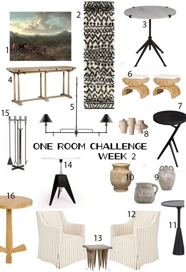 One Room Challenge Week 3 Nicole Cohen