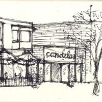 Coffee, watercolors, and Robert Venturi