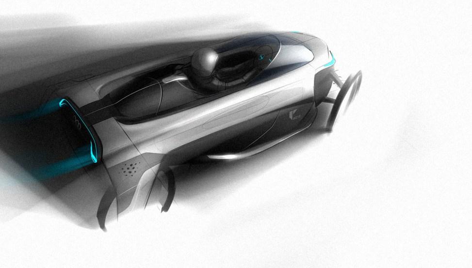 Industrial Design Sketch - Florian Mack - Exterieur