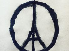 Peace for Paris logo by Jean Jullien