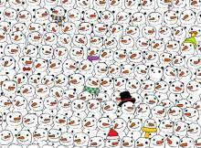 Dudolf panda snowman