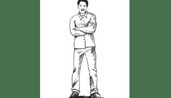 How To Draw A Man Running Sketchbooknation Com