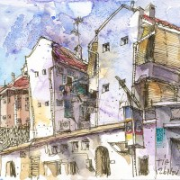 Inspiration: Singapore Urban Sketchers