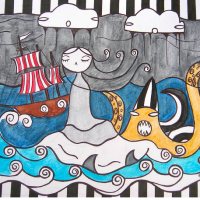 Gemma Austen's whimsical seascape