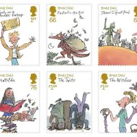 Celebrating Roald Dahl in Stamps