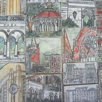 Sarah Horn: Ceramic Sketch Tiles