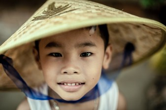 Some say that a look into the children's eyes is like an outlook into the future (Hoi An, Vietnam)