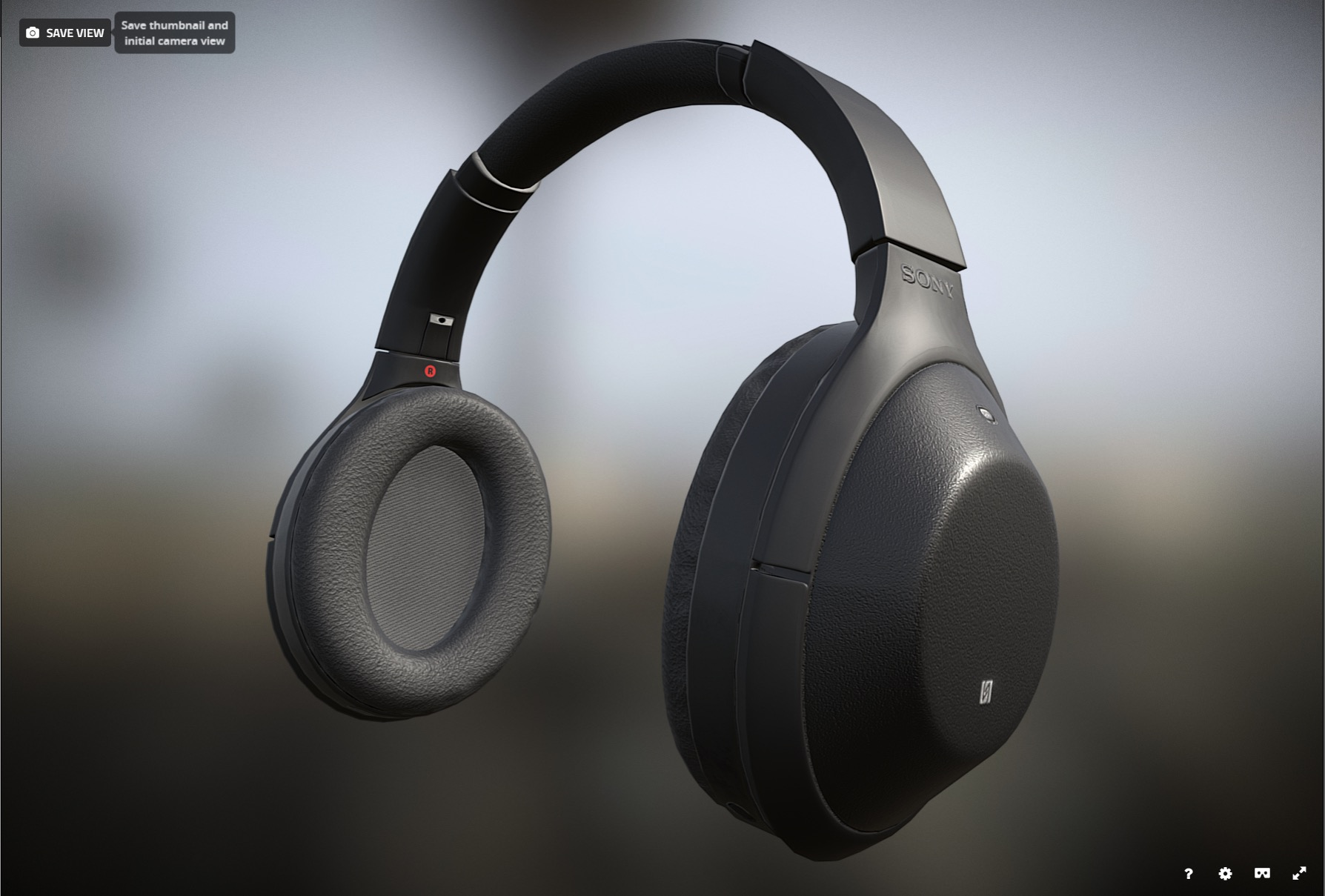 Sketchfab Community Blog - Fix it Friday: Sony MDR 1000X Headphones