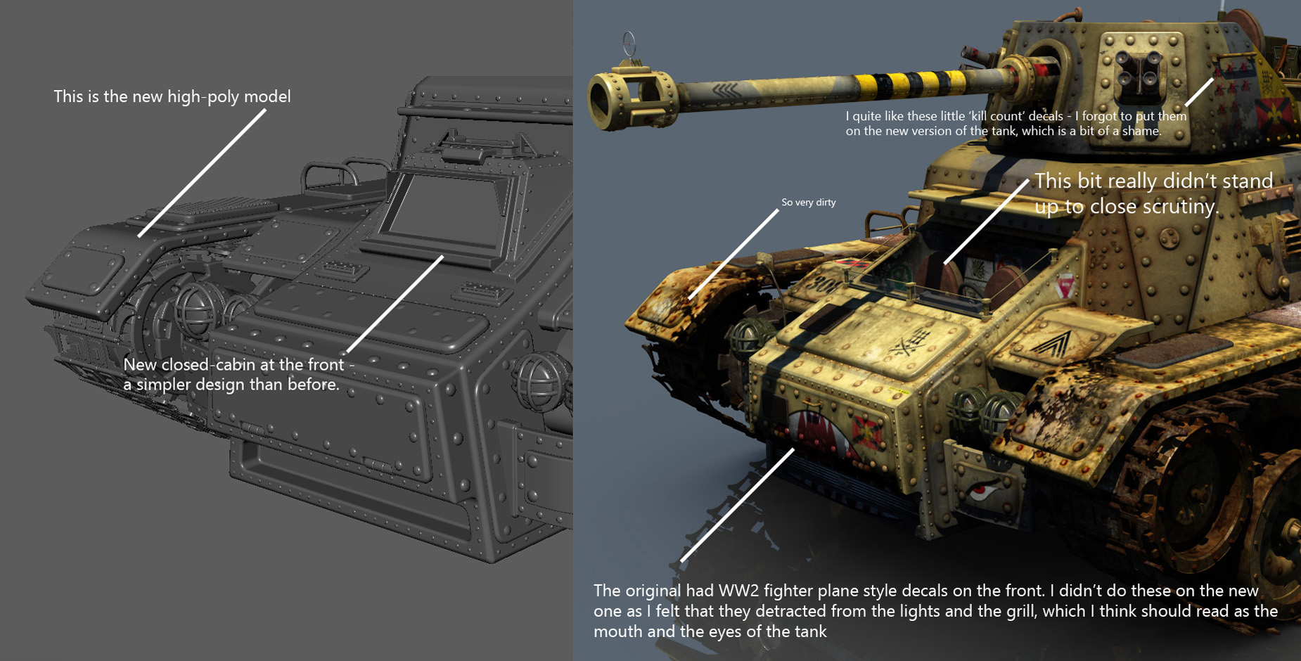 Sketchfab Community Blog - Art Spotlight: Tank