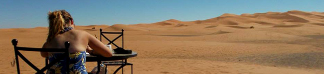 Painted-Desert - Sketching & Painting Holidays in Morocco