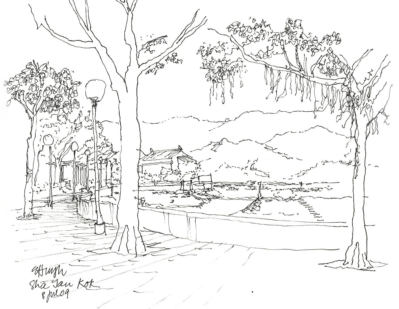 Sha Tau Kok sketch2