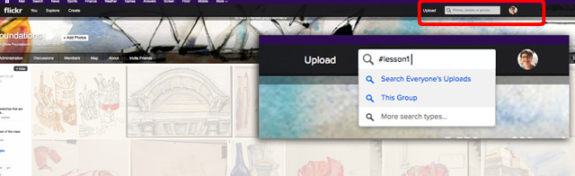 6_Flickr-search