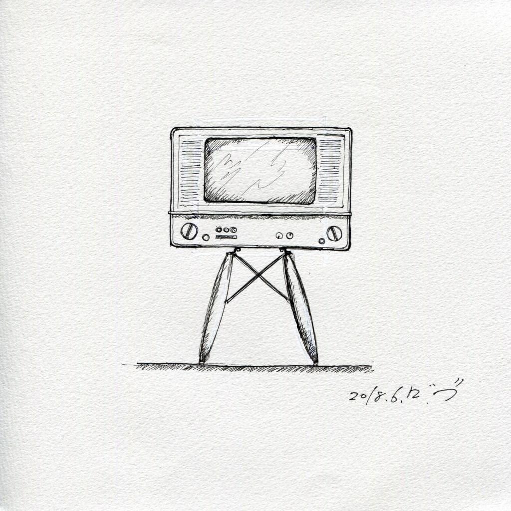 エッフェルとアナログテレビ