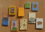 Colección de libretas pequeñas