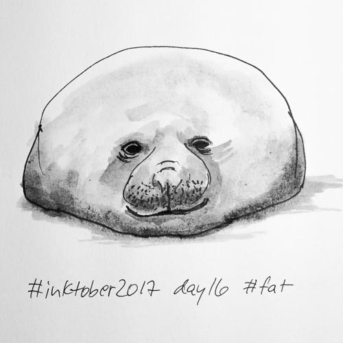 #inktober2017_day16_fat2_s