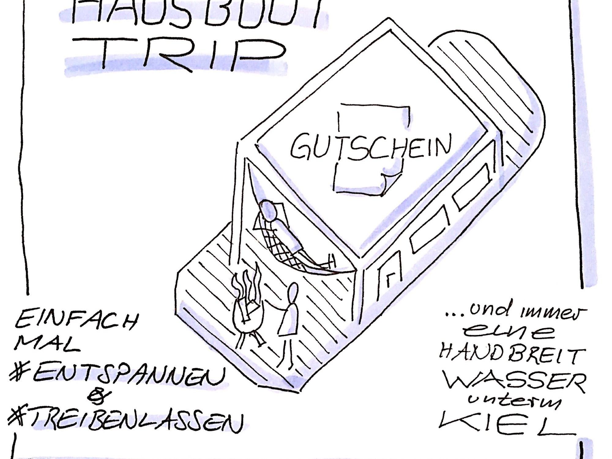 Bootsfahrt Gutschein Sketchnotes.info