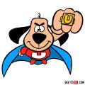 How to draw Underdog