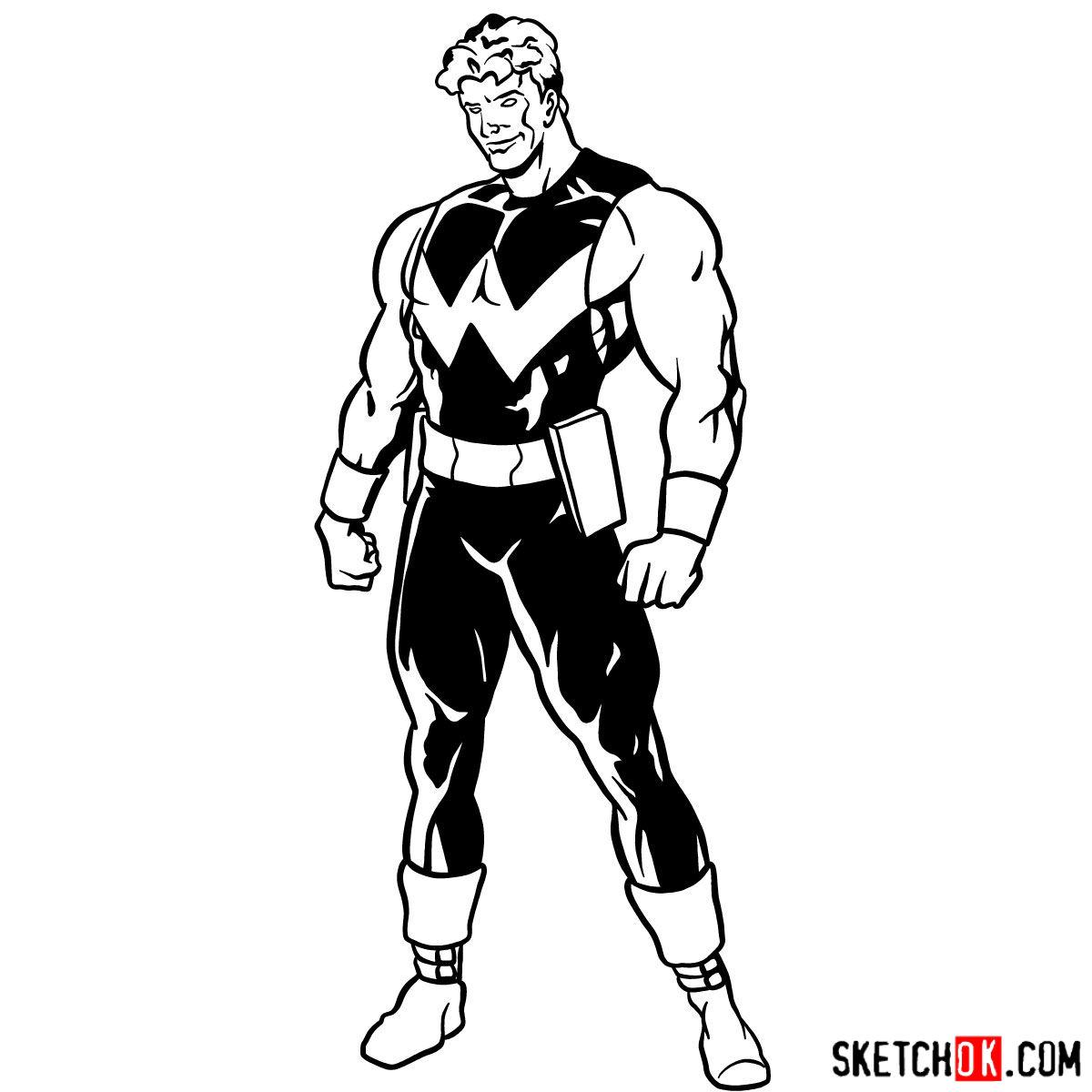 How To Draw Marvel S Wonder Man