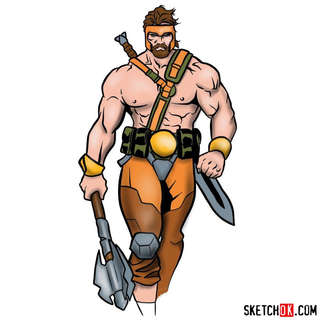 How to draw Hercules – Marvel Comics