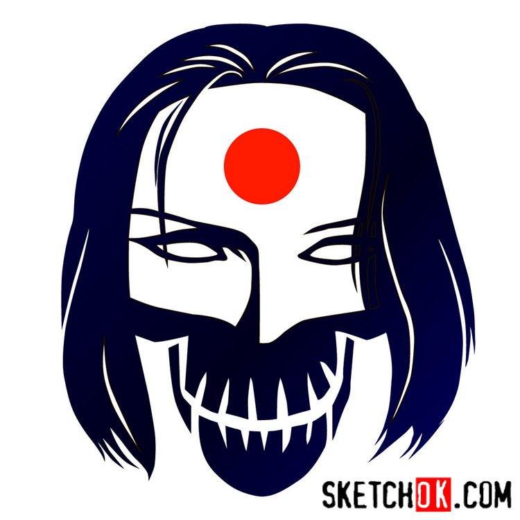 How to draw Katana's logo