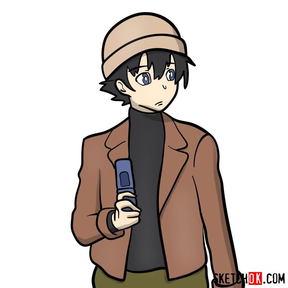 How to draw Yukiteru 'Yuki' Amano | Future Diary