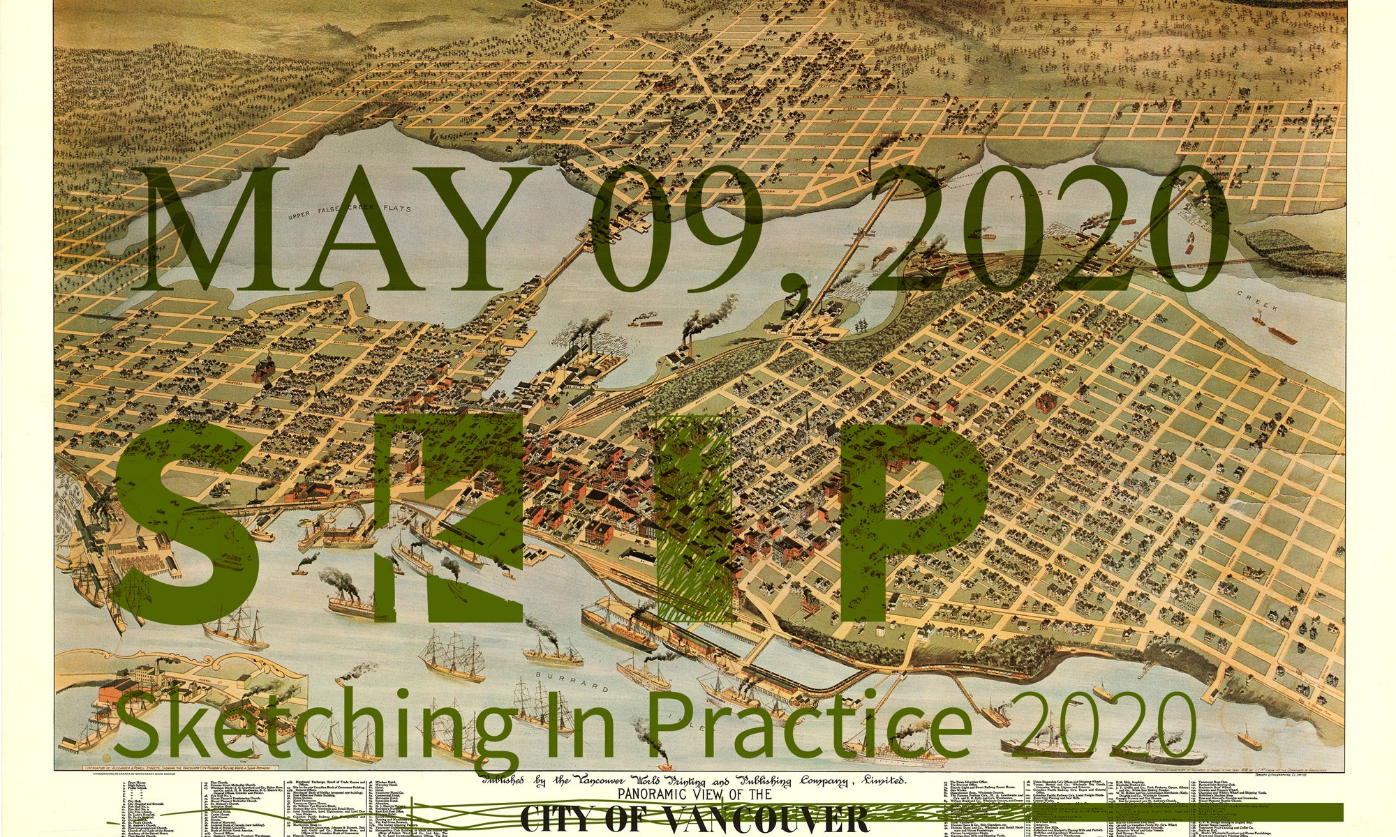 The date of the sketching in practice symposium is May 09 2020