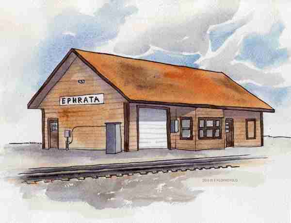 Ephrata Train Depot