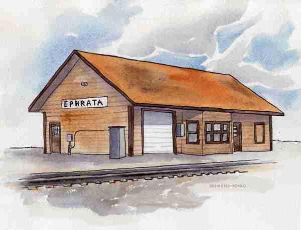 Ephrata Train Depot