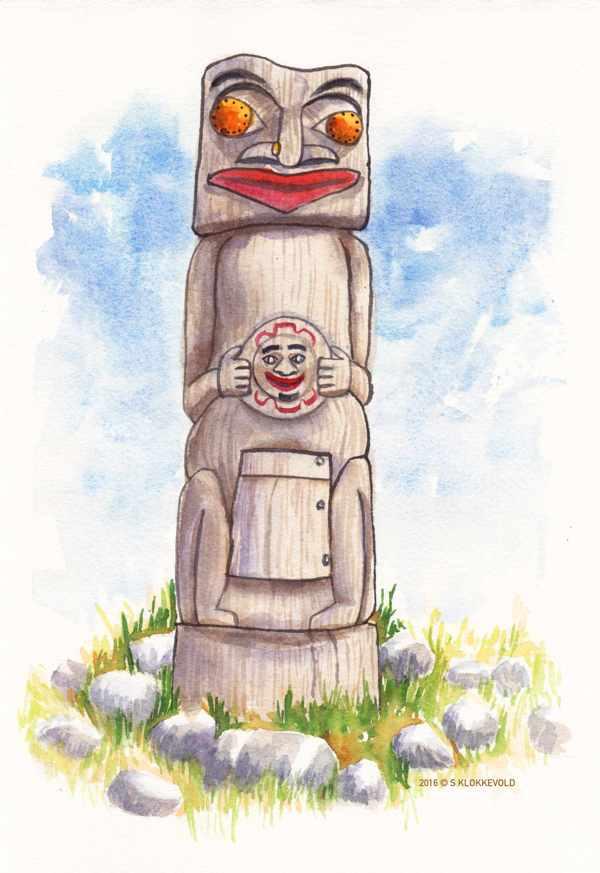 Nooksack Totem Pole