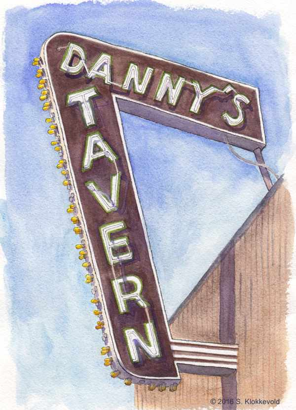 Danny's Tavern Sign