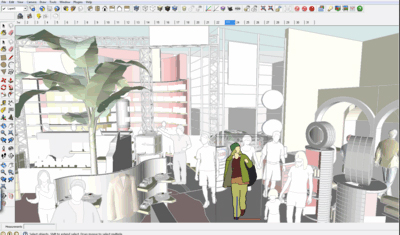 How to easily edit components and groups in sketchup for a larger and complicated project