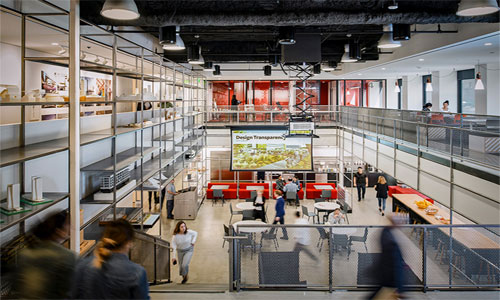 The boundary of architectural visualization at Gensler