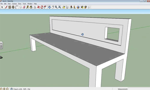 How to Make a Hole in a SketchUp Model