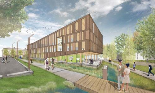Design building: Leers Weinzapfel Associates