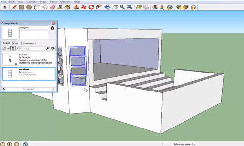 How to Create Component in SketchUp