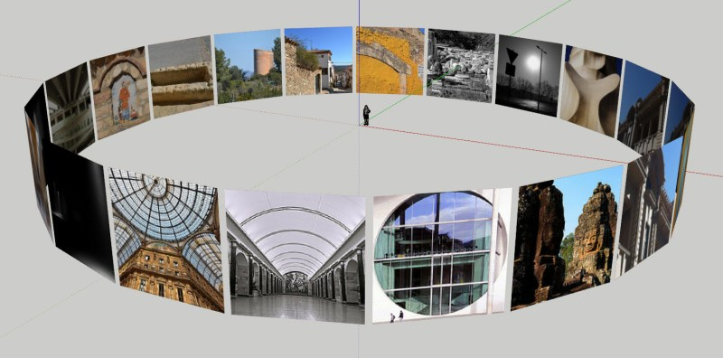Flickr and SketchUp