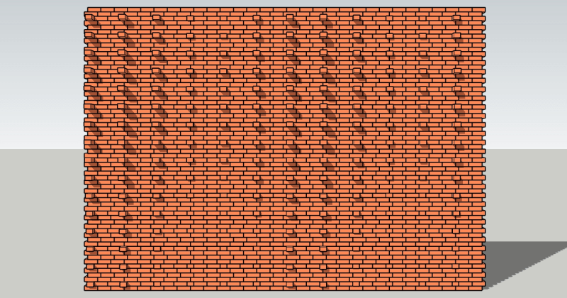 Pulled Brick Design Options