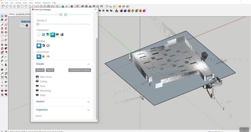 Point Clouds in SketchUp – Much Improved!